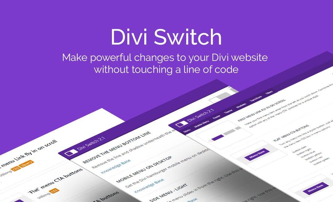 Divi Switch: quelles options supplémentaires pour votre site?