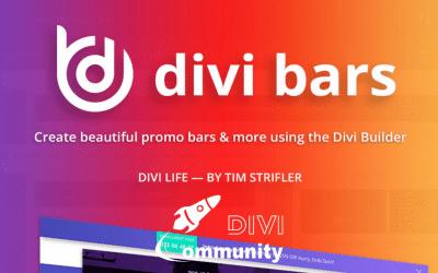 Divi Bars: créez des barres d'appel à l'action avec le Divi Builder