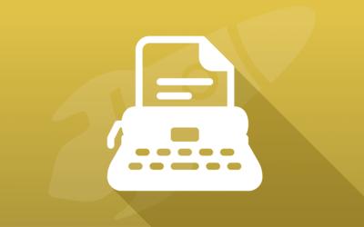 Appliquer un effet machine à écrire sur un texte