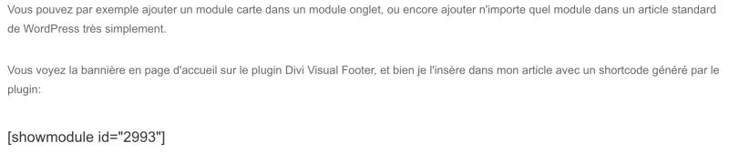 divi simple shortcode article