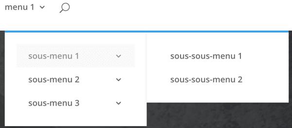 cr u00e9er un m u00e9ga menu avec divi mega menu