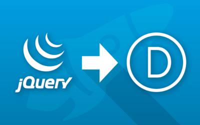 Comment ajouter du code jQuery dans Divi