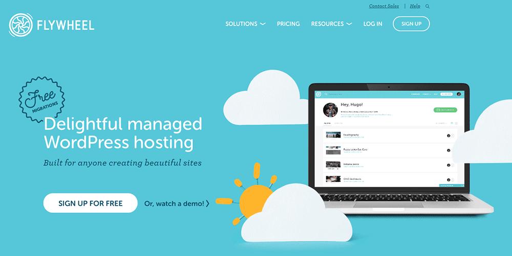Flywheel, l'hébergement WordPress infogéré