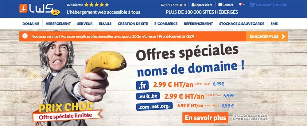 L'hébergement made in France par LWS