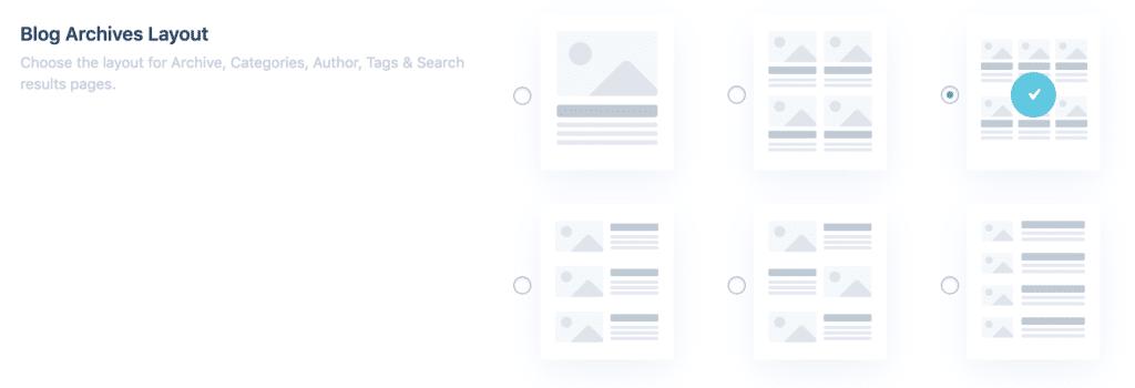 Les modèles de page d'archives du plugin Divi Toolbox