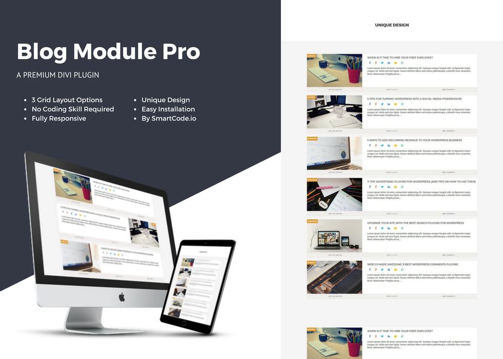 Le plugin DTS Module Blog Pro