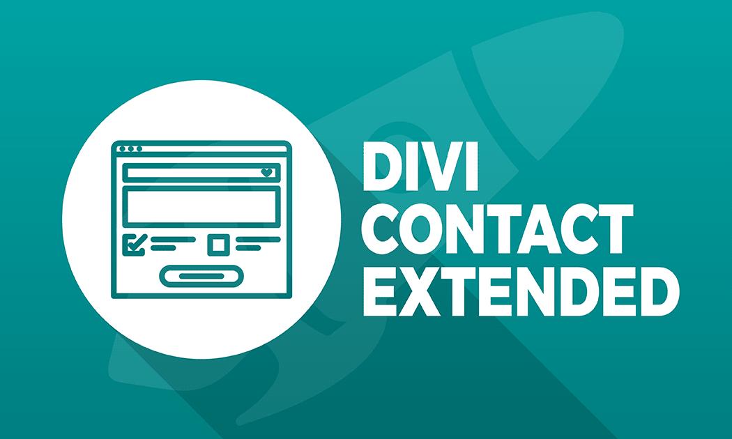 Améliorez votre formulaire de contact avec Divi Contact Extended