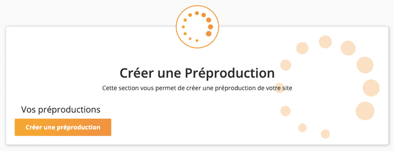 Créer un site de pré-production avec WP Tiger dans cPanel chez o2switch