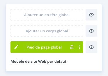 Ajouter un pied de page global avec le Divi Theme Builder