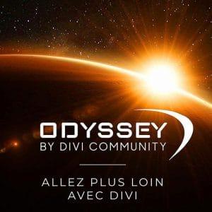 Odyssey, le support premium par Divi Community