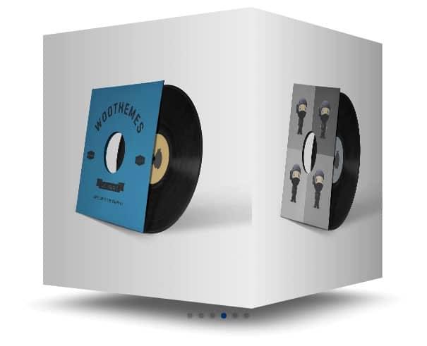 """Un exemple de carousel en cube fait avec Swiper et les modules """"Images"""" de Divi"""