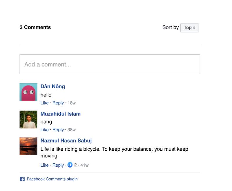 divi facebook comments